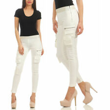 Pinko Xenon Skinny Drill Superstrech Jeans Leggings Hose Weiss EXCLUSIVE Leggins