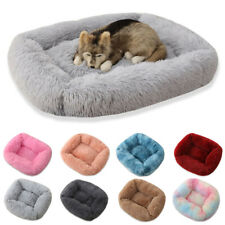 Soft Warm Fleece Pet Blanket Large Cat Dog Kennel Bed Fluffy Mat Pad Cushion NEW