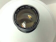 Olympus OM 75-150 MM f4 Lens