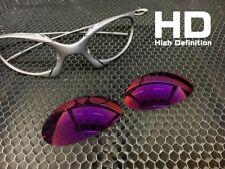 LINEGEAR Custom Lens for Oakley Romeo 1 - HD Red Mirror [R1-HD-RM] *Prizm