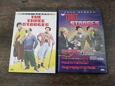 The Three  Stooges Two DVD lot full screen