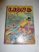 LION Annual - Year 1959 - UK Annual - With Price Ticket Intact