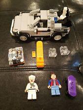 Lego Ideas Cuusoo 21303 Back to the Future DeLorean Time Machine