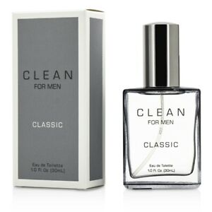 NEW Clean For Men Classic EDT Spray 30ml Perfume