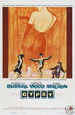 Gypsy Natalie Wood vintage movie poster print