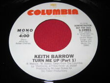 KEITH BARROW 45 - TURN ME UP - SOUL FUNK  NM