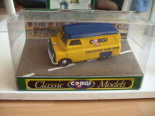 Corgi Bedford CA Van Collector Club 1990 in Yellow in Box on 1:43