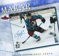 CALE MAKAR Colorado Avalanche Signed 8x10 Photo - 70443