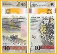 Northern Ireland 10 Pounds p-new 2018(2019) Ulster Bank UNC Polymer Banknote