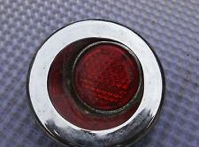 Corvette  1958 1959 1960 1961 1962 Door Panel Original Reflector Red Lens One