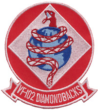 Fighter Squadron 102 VF-102 United States Navy USN Embroidered Patch
