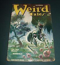 Vintage Issue of Weird Tales for November 1950 , Horror, Dark fantasy Cover Art
