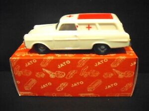 OPEL  Rekord P2 Ambulance 1963 vintage made in  Portugal - Boxed  13
