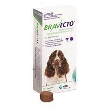 Bravecto Medium Dog Green 10-20kg Single Chew Flea & Tick Control