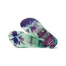 Havaianas Brazil Women`s Flip Flops Slim Metal Logo Sandal Vary Colors Any Size