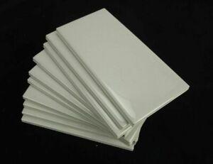 "10 American Olean Starting Line Gloss Gray 3"" x 6"" Ceramic Subway Tile"