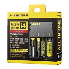 Nitecore Intellicharger i4 Universalladegerät für Li-Ion, Ni-MH und Ni-CD Akkus