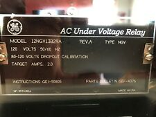 New GE Multilin AC Under Voltage Relay 12NGV13B29A NGV