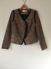 GHARANI STROK FITTED SHORT JACKET SIZE XL /UK 16