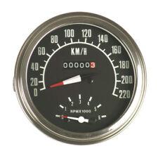 Contachilometri e contagiri Harley Davidson strumentazione serbatoio 2:1 1973-84
