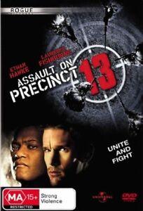 Assault On Precinct 13 DVD 2005 Ethan Hawke Laurence Fishburne Action Movie