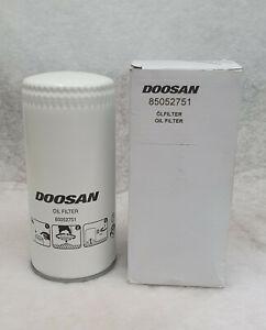 Genuine Doosan Oil Filter CPN 85052751