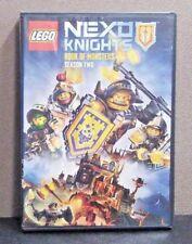 Lego Nexo Knights: Book of Monsters  Season 2    (DVD)   LIKE NEW
