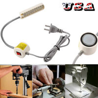 Industrial Sewing Machine 30 LED Magnetic Flexible Mounting Light Lamp US