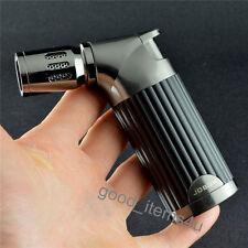 Jobon 4 Nozzles Classic Metal Torch Jet Flame Butane Gas Cigar Cigarette Lighter