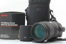 *MINTw/BOX* SIGMA 70-200mm F2.8 II APO EX DG MACRO HSM Lens For Four third#JAPAN