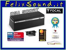 FOCAL DSA500RT Subwoofer Attivo + Uscite Amplificate  2x75 W RMS + DSP INCLUSO