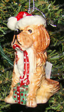 Bentley The Golden Retriever Christmas Ornament (Top Dog by Westland, 20271)