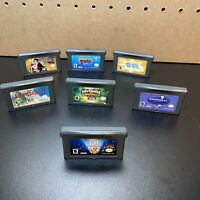 7 Game Lot Nintendo Gameboy Advance-Spyro Season Of Ice,E.T.,Harry Potter,Power