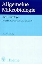 Allgemeine Mikrobiologie von Schlegel, Hans G., Zaborosc...   Buch   Zustand gut