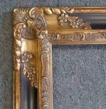 Picture Frame-12x16 Vintage Antique Style Baroque Dark Gold/Black Ornate 1238