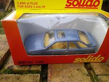 SOLIDO FRANCE 1340 FORD SIERRA XR4 I bleu, comme neuve en boite d'origine.
