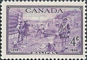 Canada  # 283   Halifax Bicentenary    Brand New  1949 Original Pristine Gum