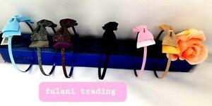Women's Cute Headband Alice Band Top Fashion plain Headband Twist Hairband shing