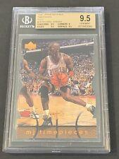 1998 Upper Deck MJx Timepieces Gold Michael Jordan /23 BGS 9.5 GEM MINT Pop 1