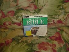 Wisdom of the Bible (CD, 2003) 2 CD-Rom set, from Topics Entertainment