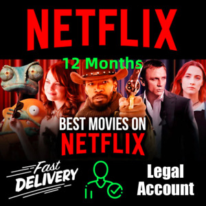 🎬🔥NETFLIX 12 MON✅SUPPORT✅ 4 DEVICES✅ 4K🎬🔥 5 USERS