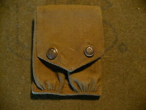 Pre-WWI Mills 1912 US Army 1911 Rimmed Eagle Magazine Pouch.