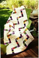 Up The Escalator Quilt Pattern Pieced SD