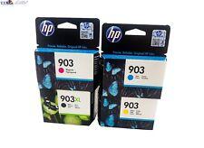 4 ORIGINALE DRUCKERPATRONEN HP 903XL Black + HP 903 YCM OFFICEJET 6950 6960 6970
