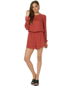 THE FIFTH LABEL Time Stand Still Womens Long Sleeve Playsuit size M 10 $99.95