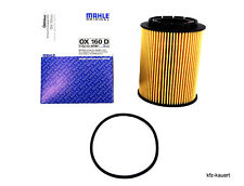 Mahle Oil Filter OX 160 D compatible with Porsche Cayenne 04-12