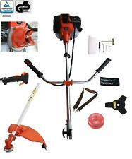 More details for 52 cc 2 in 1 petrol strimmer brush cutter 3 hp 1 year warranty extra spark plug