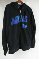 Aquas 23 Air Jordan Black 2XL Hoodie Retro 8 Full Zip Concord Purple Blue