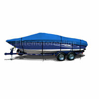 Ultra 28 Stealth Trailerable Performance Jet Boat Cover Blue