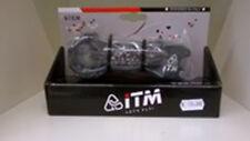 BICICLETTA Attacco manubrio ITM TRIANGO WING ALU/CARBO 100  corsa 28,6/31 strada